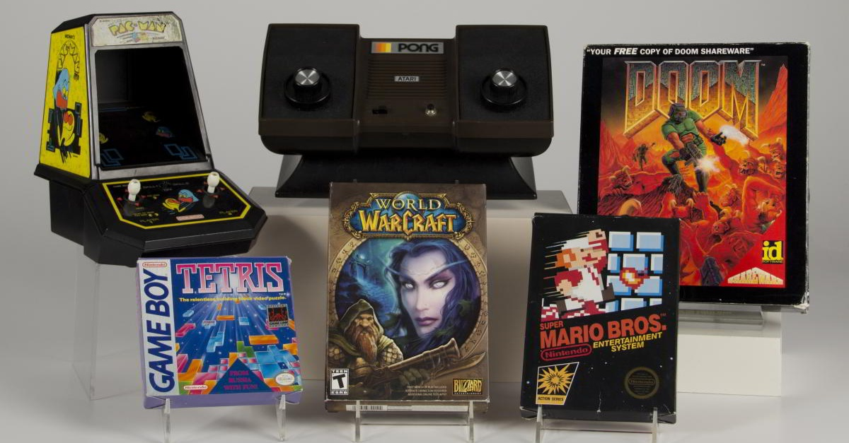 World Video Game Hall of Fame Inductees, 2015