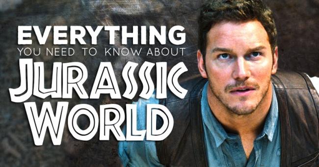 Jurassic World Guide social