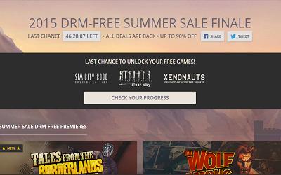 GOG Summer Sale 2015 Finale