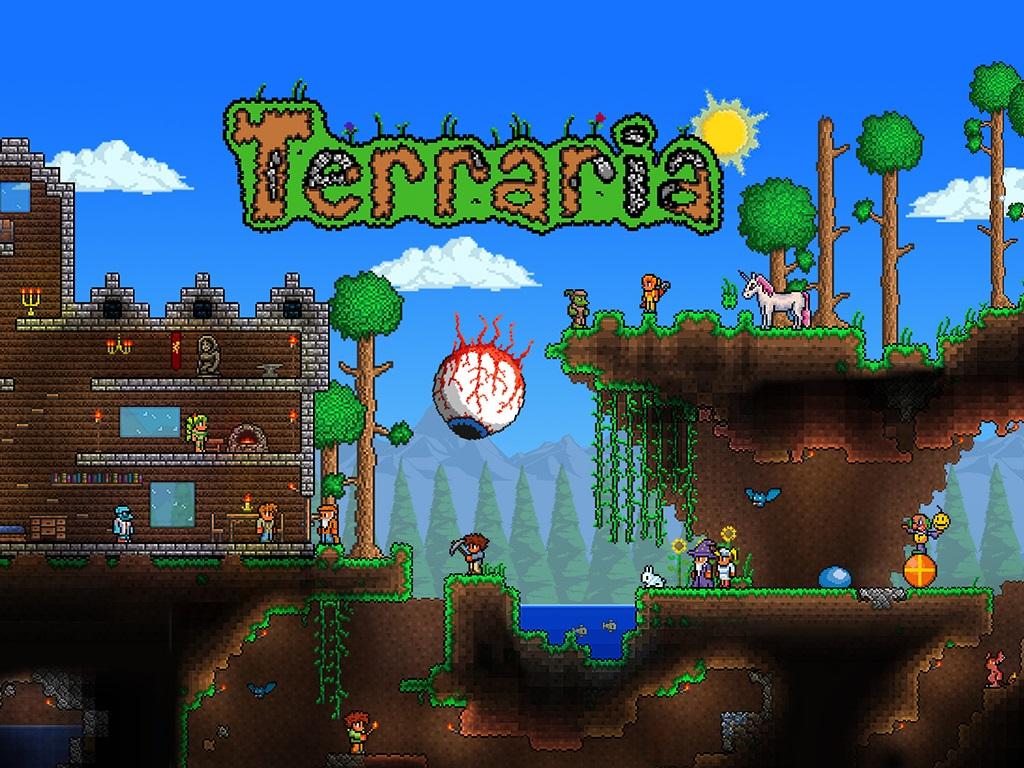 Terraria Logo Large