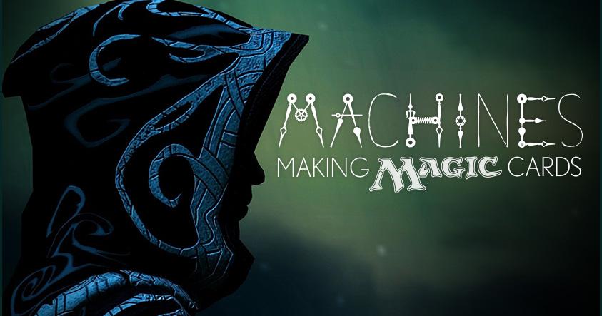 Machines Making Magic Cards social