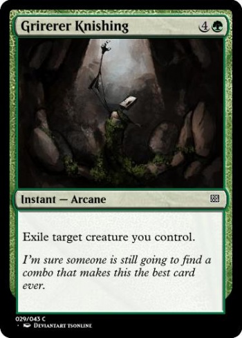 Computer Generated Magic The Gathering Card