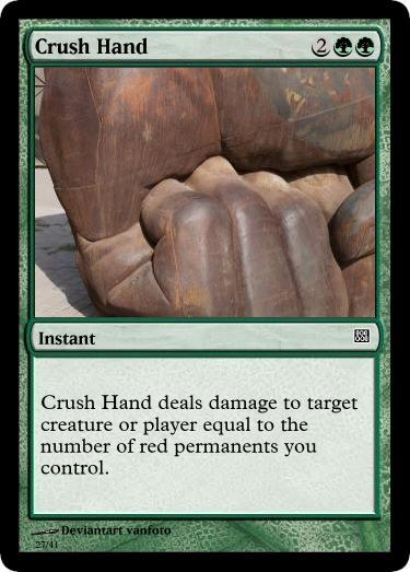 Crush Hand