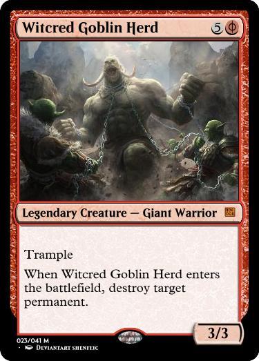 Witcred Goblin Herd