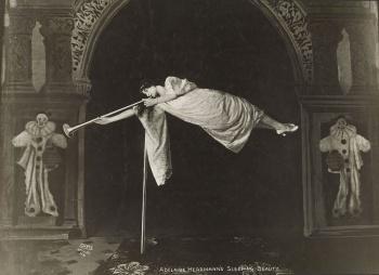 Herrmann as Sleeping Beauty