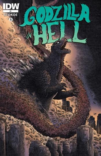 godzilla in hell cover