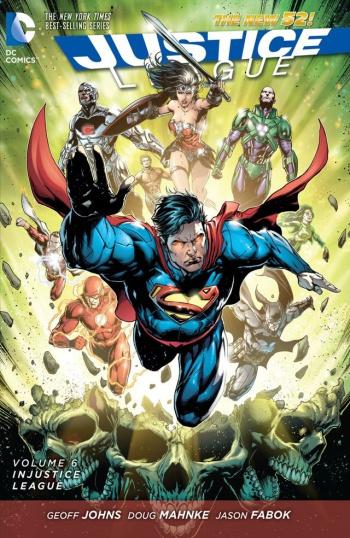 injustice league cover