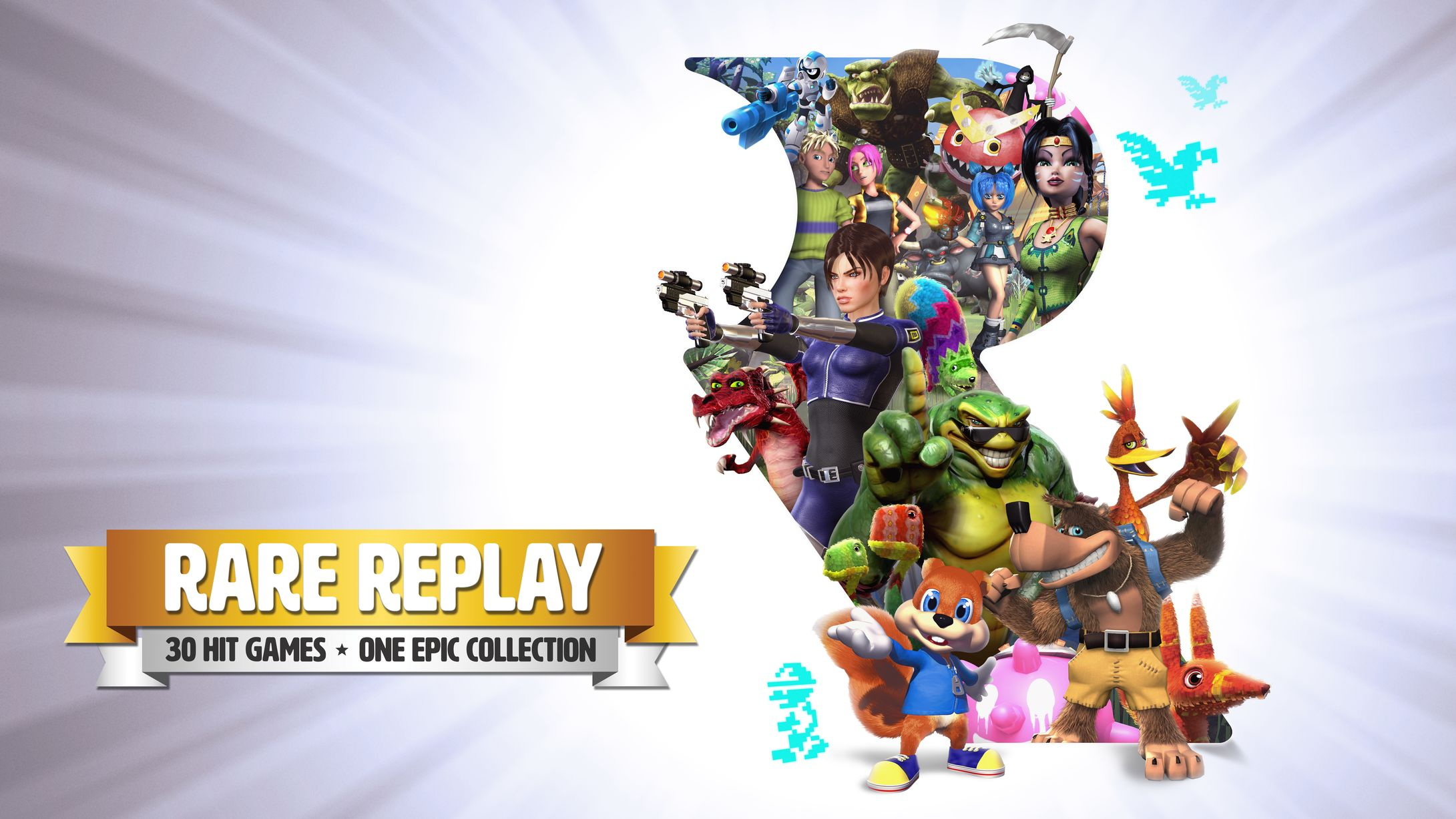 Rare Replay Logo Large