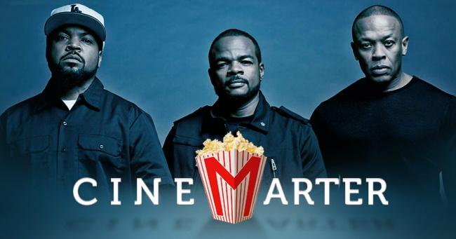 Straight Outta Compton CineMarter Banner