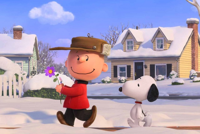The Peanuts Movie Banner