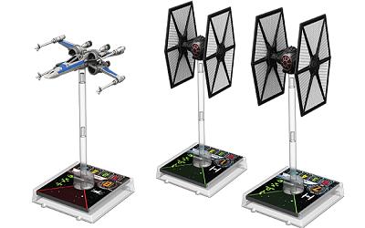 Force Awakens TIES/X-Wing