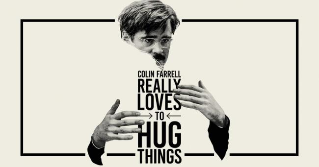 Colin Farrell Hugs