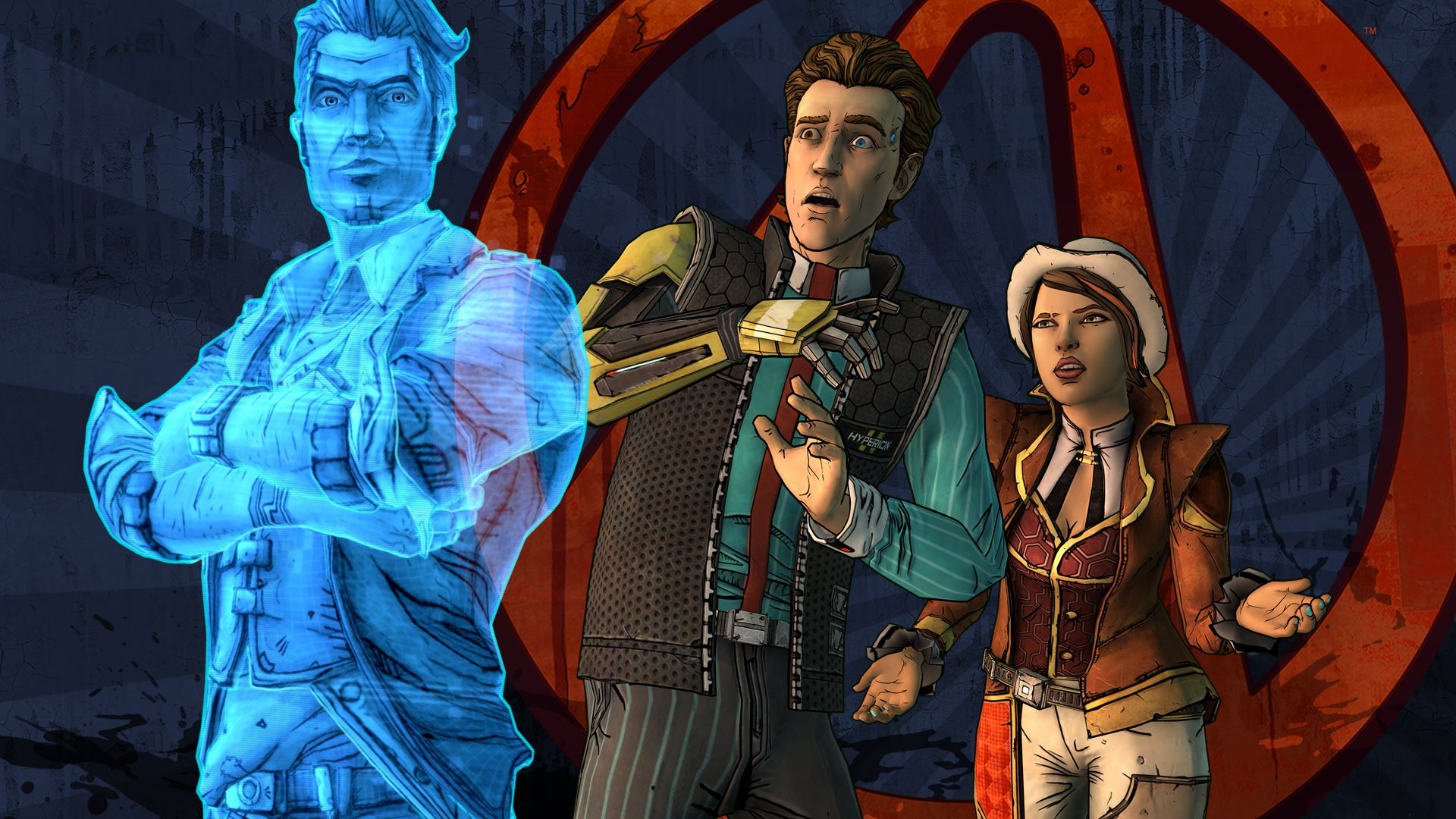 Tales From The Borderlands Logo Large