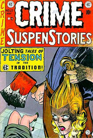 horror comics crime suspenstories 22