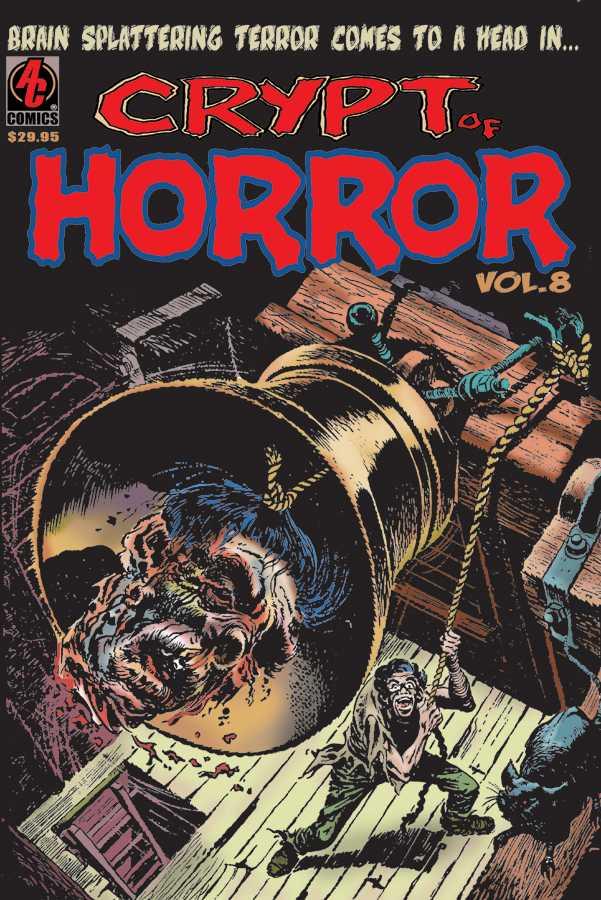 horror comics crypt of horror 8