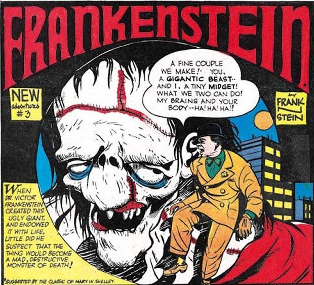 horror comics frankenstein new adventures 3