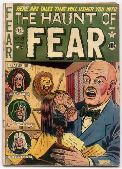 horror comics haunt of fear 8