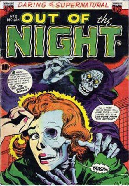 horror comics out of the night 6 dec jan