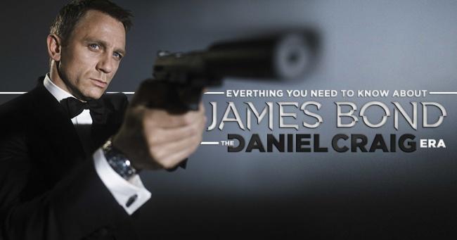 James Bond - Daniel Craig Era Banner