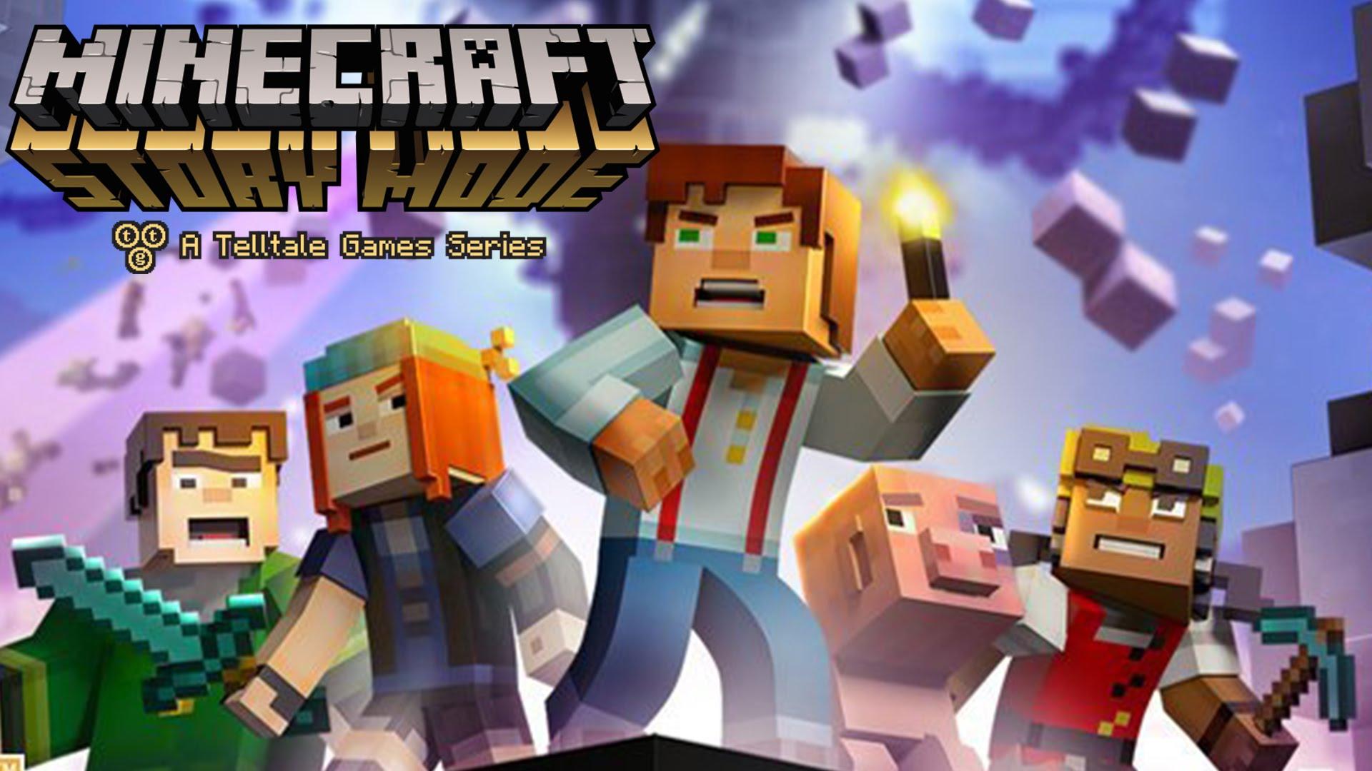 Minecraft Story Mode Logo Large
