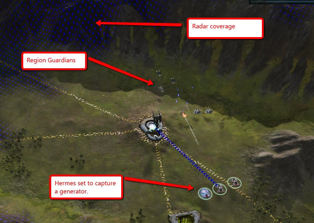 Ashes of the Singularity Capturing A Generator Combat