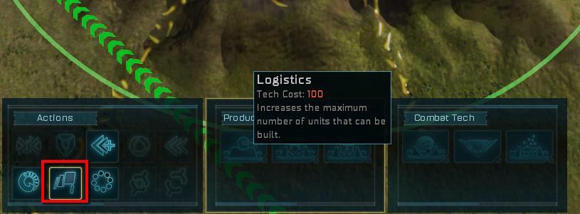 Ashes of the Singularity Logistics